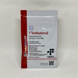 Clenbuterol Pharmaqo 100x40mcg